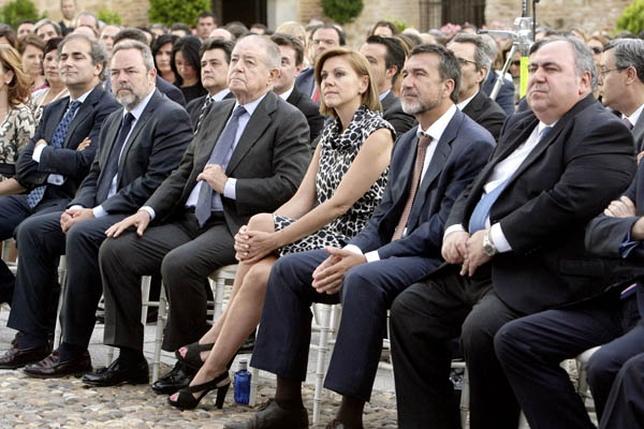 Autoridades en el acto del 25 aniversario de Gas Natural Castilla-La Mancha.