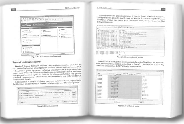 Amplia información con pantallazos de lo que aparecerá en nuestro ordenador a medida que usamos los programas