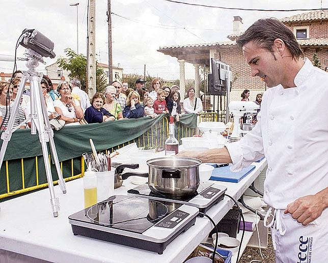 Hubo demostraciones de cocina en directo. DP