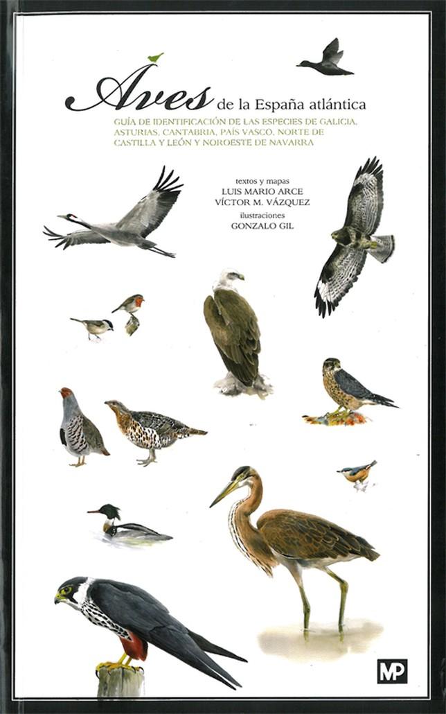 Portada del libro sobre Aves editado por Mundiprensa