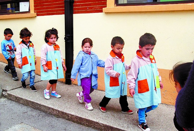 En el primer curso de Infantil se han cubierto la mayoría de las plazas. R.L.