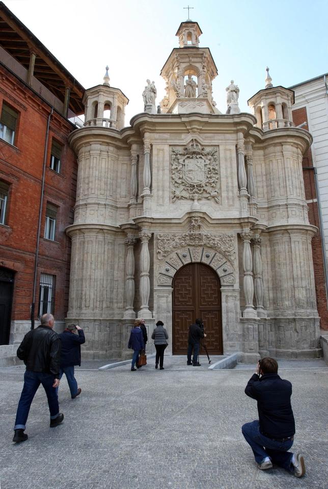 Presentación de la nueva fachada de San Juan de Letrán. Ical