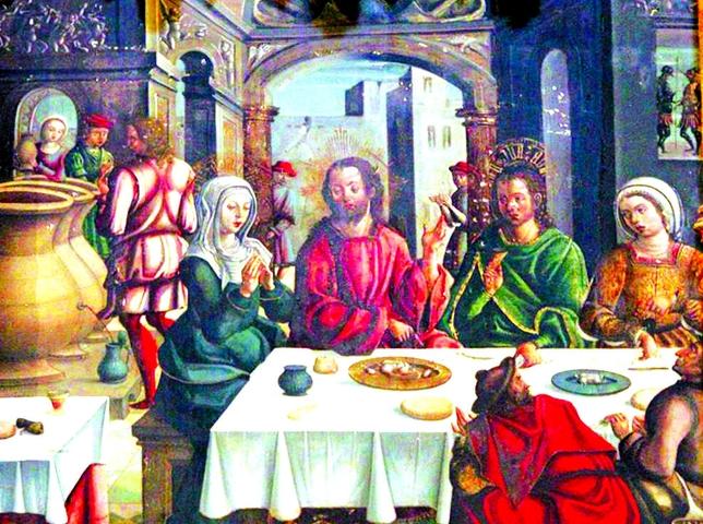 Bodas de Caná del siglo XVI