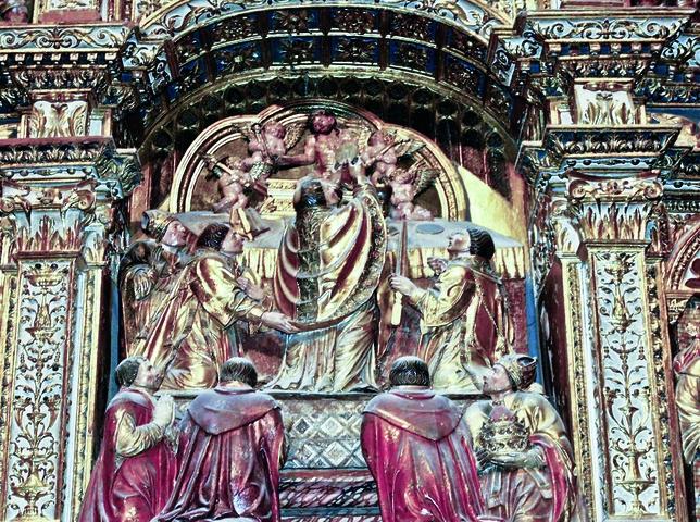Retablo de la Misa de San Gregorio del siglo XV