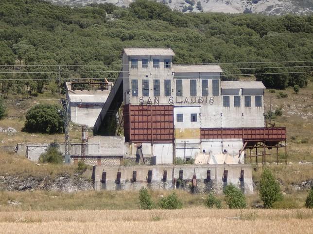 Instalaciones de 'San Claudio' en Castrejón de la Peña.