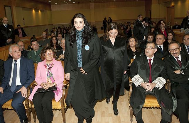 Sara Manganero Fernández, una de las nuevas abogadas de Talavera.
