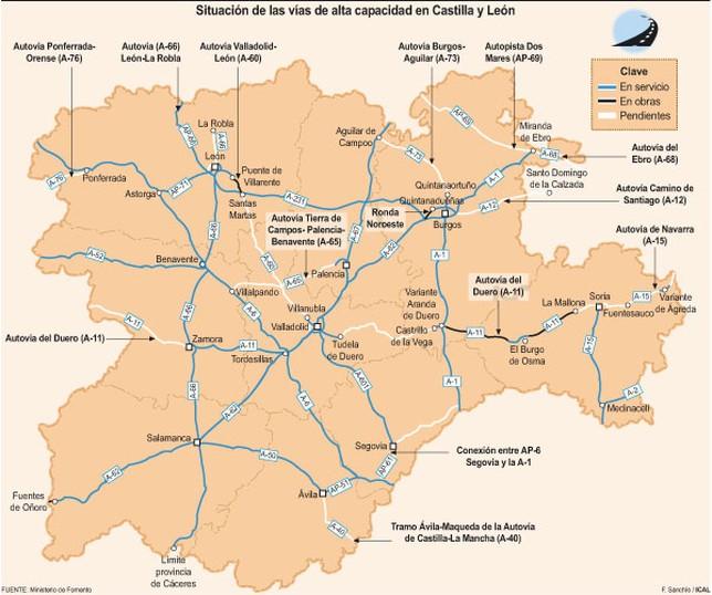 Mapa Castilla Y Leon En Blanco.El Pp Abre Etapa Con El Proposito De Enmendar Una