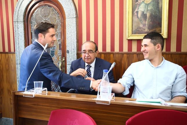 Da la Rosa volvió a destacar la coherencia y deseo de cambio de Raúl Salinero e Imagina Burgos. Alberto Rodrigo