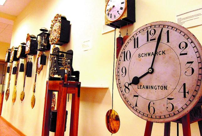 La retirada de la colección de relojes deja semivacío el