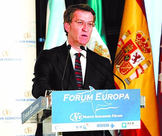 Núñez Feijoó dijo ser hijo del 68 y entender esa nostalgia. JUAN LAZARO