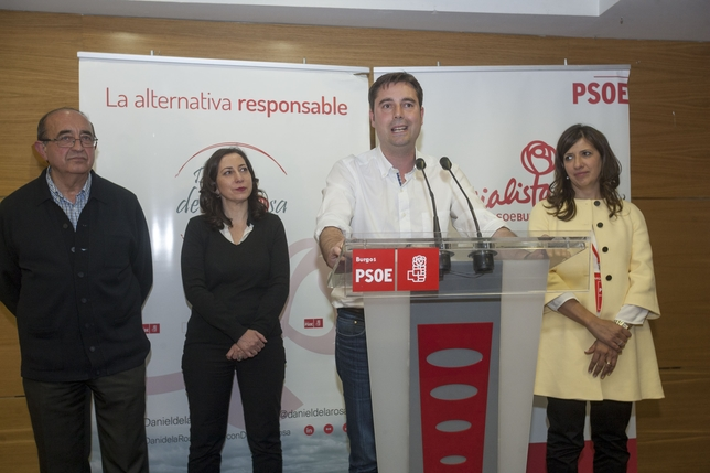 De la Rosa pidió un acuerdo entre PSOE, Imagina y Ciudadanos para gobernar. Ángel Ayala