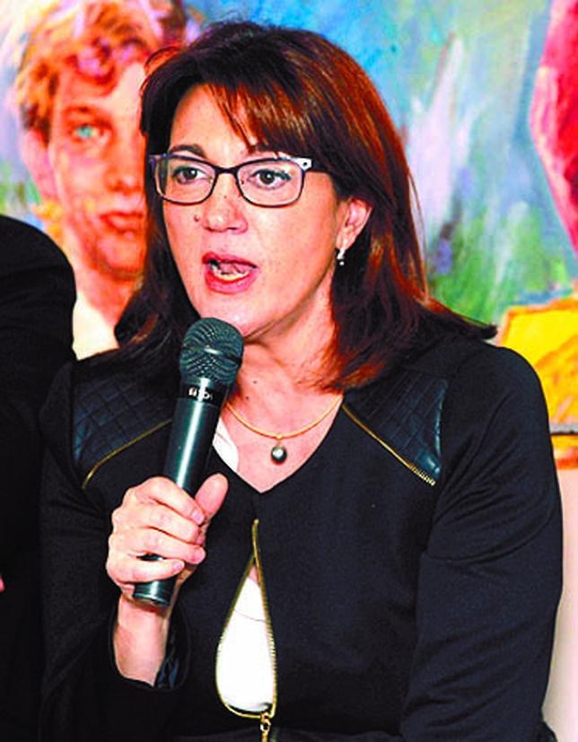 Soraya Rodríguez defendió que todo lo que ha hecho el PP lo derogarán, buen camino para llegar a un pacto de Estado por la Justicia. JUAN LAZARO