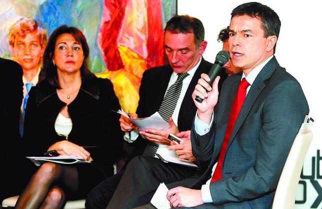 Andrés Herzog es lo único y último que queda de UPyD. JUAN LAZARO