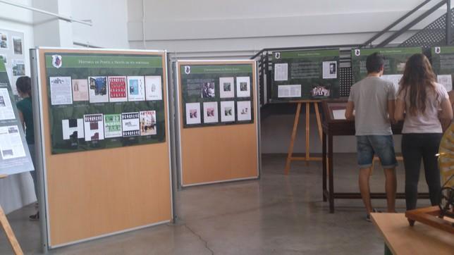 Exposición organizada con motivo del 170 aniversario.