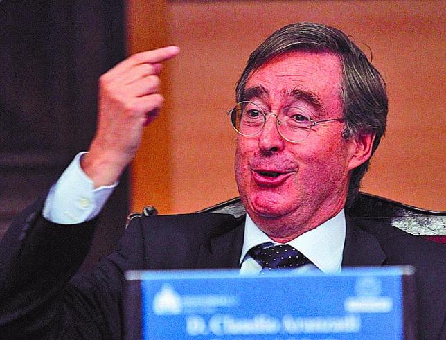 Claudio Aranzadi se tuvo que comer parte de la reconversión industrial española.