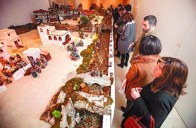 Se espera que más de 28.000 personas visiten el belén a lo largo de la Navidad. Valdivielso