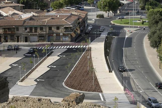 La idea es dar continuidad al actual paseo peatonal hasta la estación.