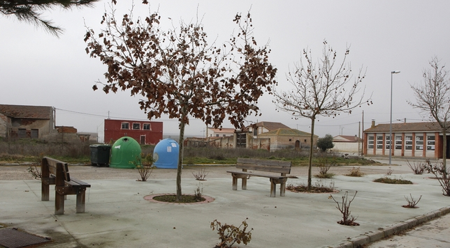 En el municipio de Aguasal, al sur de Olmedo, solo vive un matrimonio durante los meses de invierno.