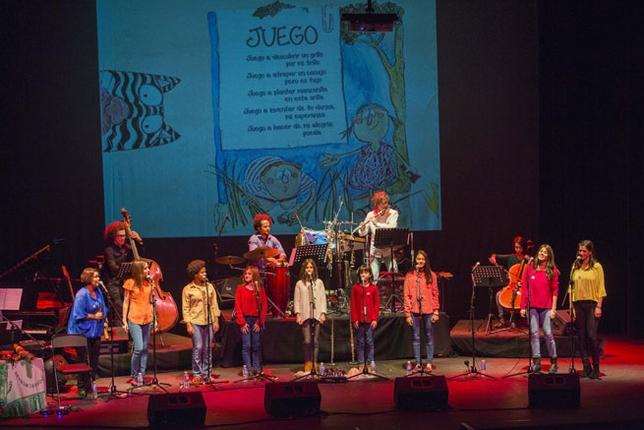 Un momento de la actuación en el Quijano /Fotos Rueda Villaverde