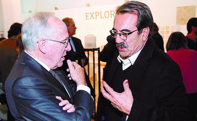 Manuel Pizarro y Emilio Ontiveros, dos hombres sabios que supieron  huir a tiempo de la política. JUAN LAZARO