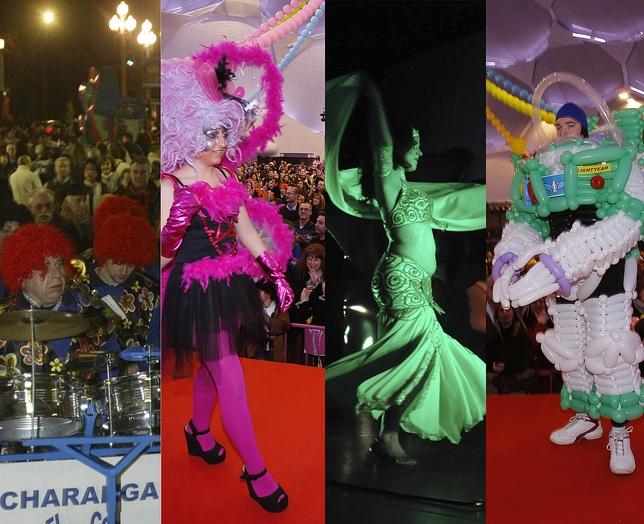 Programación del carnaval en Valladolid.