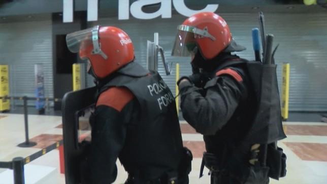 Simulacro de atentado yihadista en La Morea
