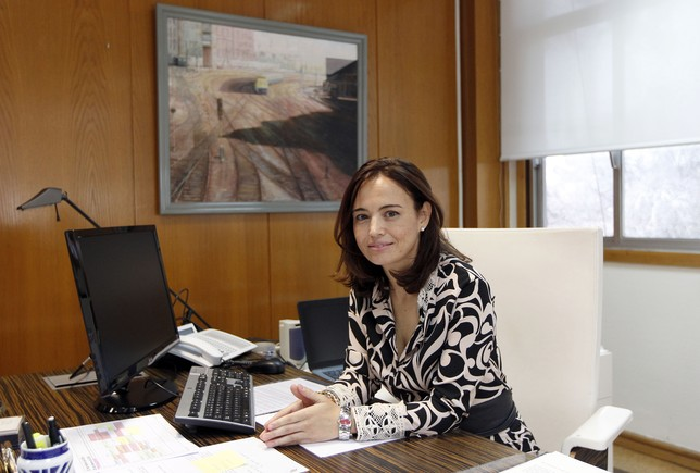 Berta Romero, directora general de Operaciones de Renfe. JUAN LAZARO