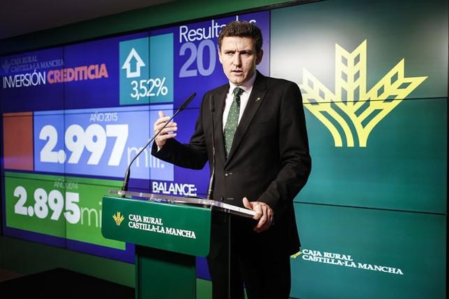 Víctor Manuel Martín López, director general de la entidad, presentó los resultados correspondientes a 2015.