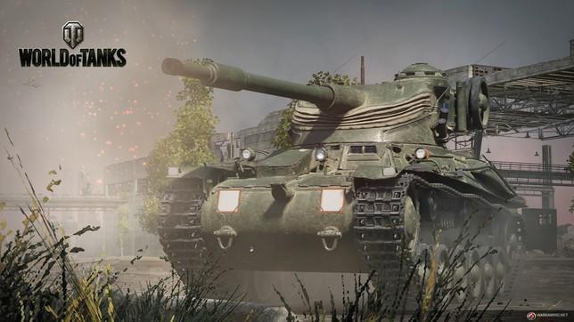 Recreación de world of tanks