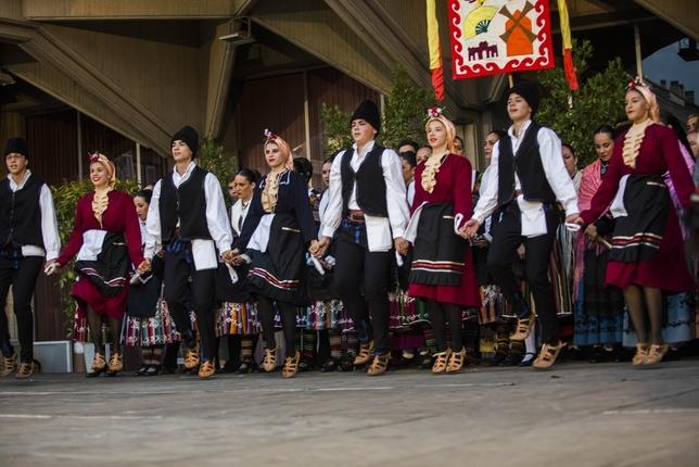 Bienvenida al folclore