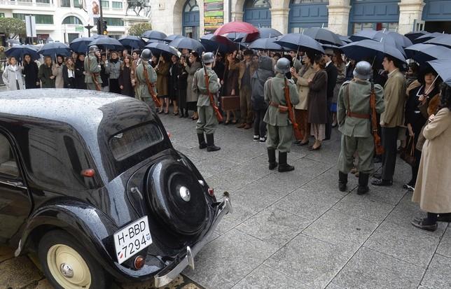 Burgos es uno de los escenarios en los que se rueda la cinta de Pablo Moreno que narra la historia de la Hija de la Caridad Helena Studler.