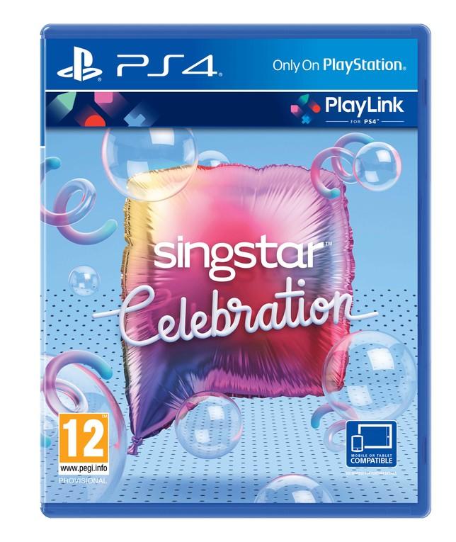 Carátula del juego singstar Celebration