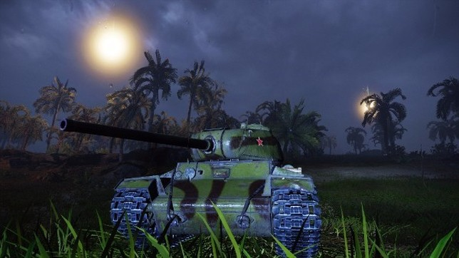 Recreación de una incursión nocturna wargaming