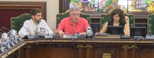 El alcade, Joseba Asiron, ha abierto el debate sobre el estado de la ciudad