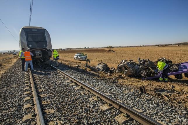 Accidente ferroviario con 2 muertos