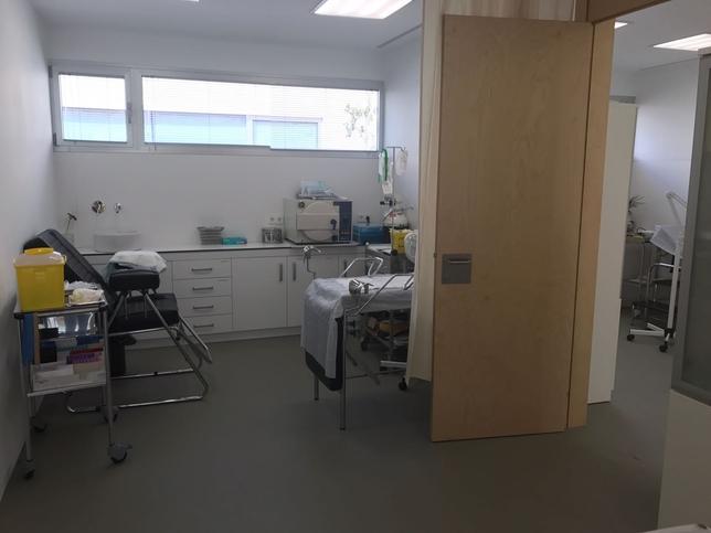 El nuevo centro de salud está abierto desde hace unos días