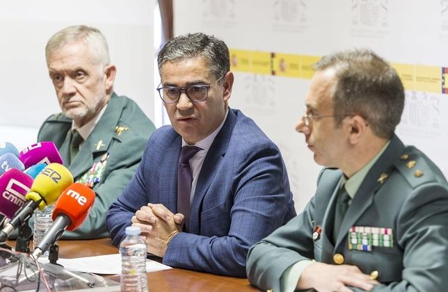 El delegado del Gobierno, Manuel González Ramos, presentó ayer esta operación. David Pérez