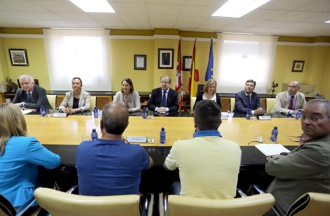 El presidente de la Junta se reúne con el Comité de Empresa de Vestas