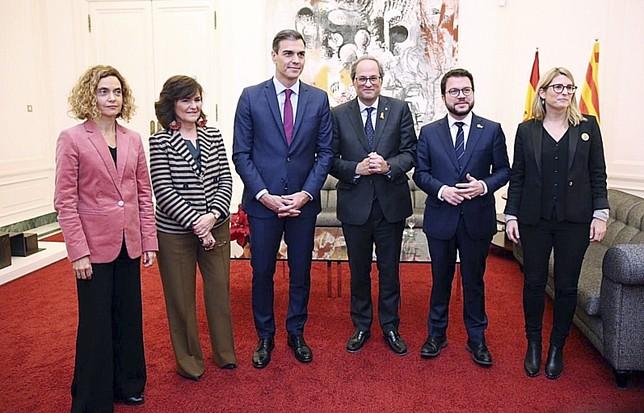 Sánchez y Torra abren la puerta al diálogo GOVERN