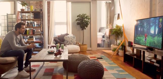 La consola de nintendo se convierte de portátil a ser la protagonista en el salón