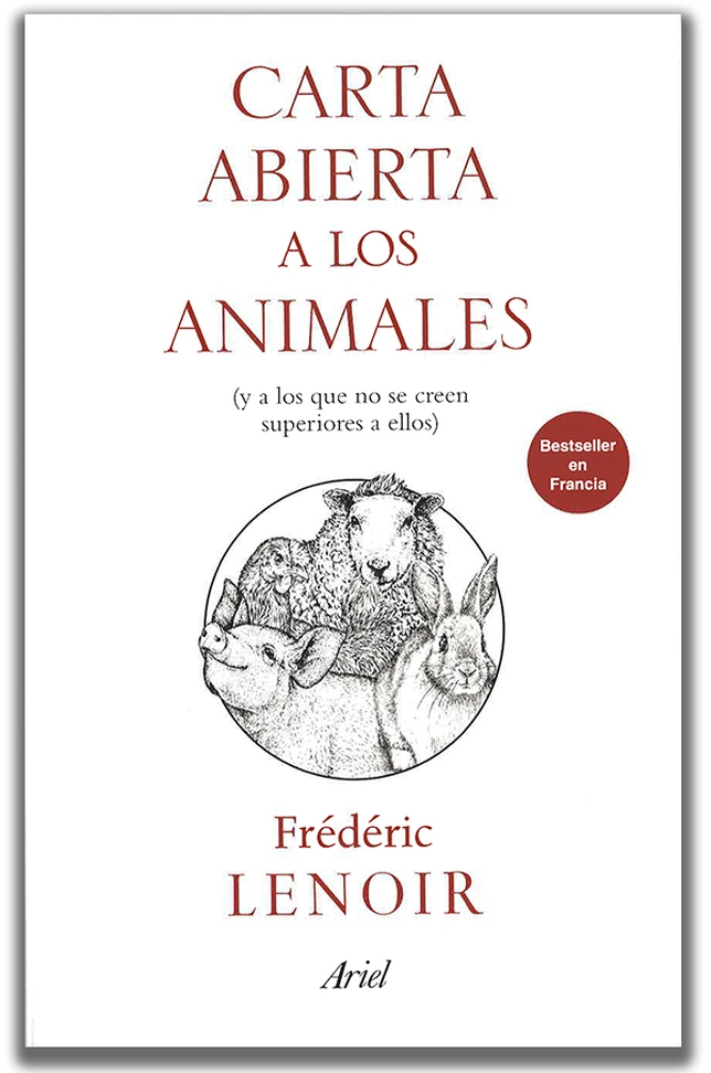 Portada del libro de Ariel Carta Abierta a los animales