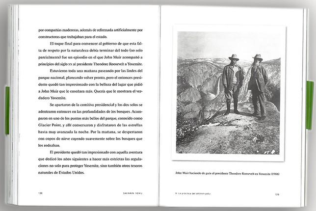Interior del libro editado por Planeta