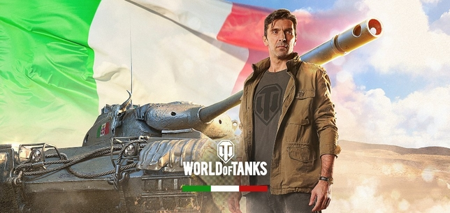 Gianluigi Buffon en world of Tanks Pc