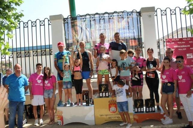 Fernández y Belmar ganan el Duatlón de Quintanar del Rey