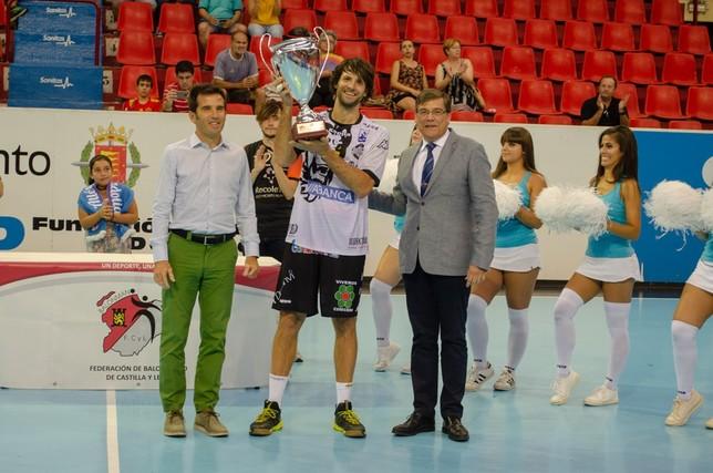 El Abanca Ademar León, campeón de la Copa ante el Atlético