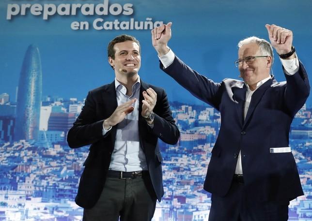 Casado critica que Sánchez hable con Torra  Andreu Dalmau