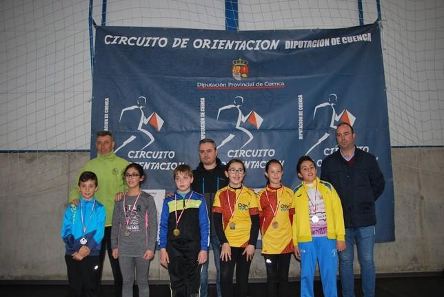 La Parrilla reúne a 160 atletas del Circuito de Orientación