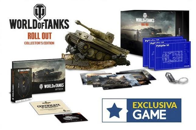 Contenido de W of Tanks, edición especial