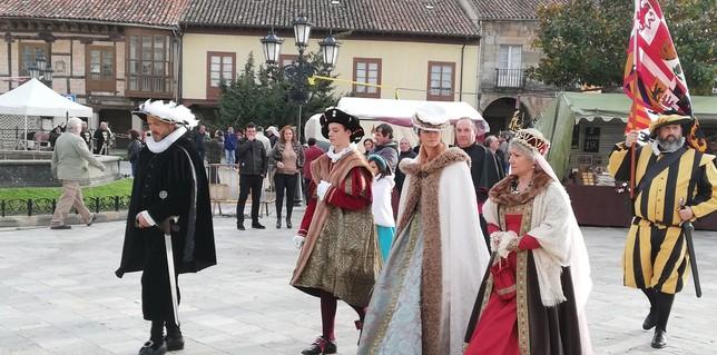 El futuro emperador regresa a Aguilar de Campoo