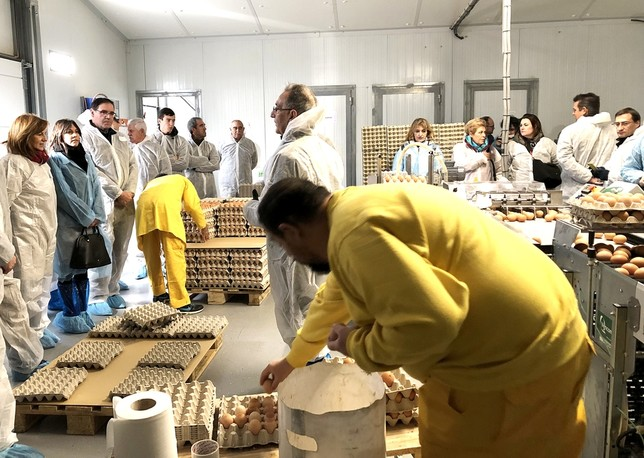 Prieto inaugura las nuevas instalaciones de la Granja Agas